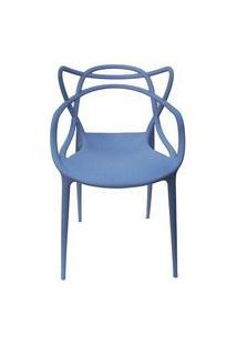 Cadeira Master Allegra Polipropileno Azul Caribe - 38025 Azul