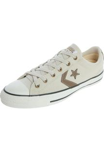 Tênis Converse Cons Star Player Ev Ox Bege/Caqui