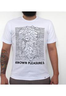 Known Pleasures - Camiseta Clássica Masculina