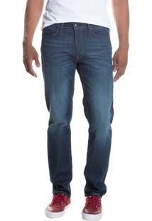 Calça Jeans 541 Athletic Straight Levis Masculina - Masculino-Azul Escuro