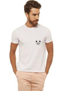 Camiseta Joss - Panda - Masculina - Masculino-Branco