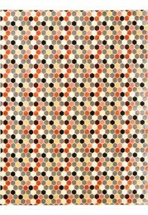 Tapete Marbella Michelangelo Retangular (200X250Cm) Colorido