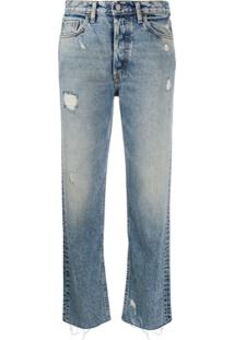 Boyish Denim The Tommy Straight Leg Jeans - Azul