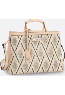 Bolsa Feminina De Mão Textura Chenson