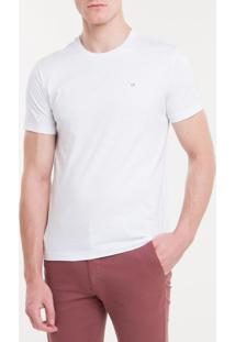 Camiseta Slim Flamê Calvin Klein - Branco 2 - P