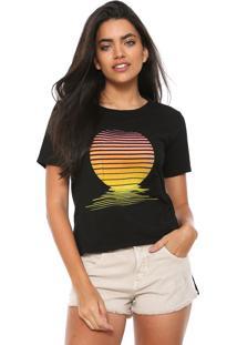 Camiseta Solar Redley Preta
