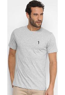 Camiseta Aleatory Mescla Masculina - Masculino-Mescla