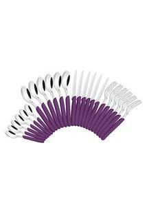 Faqueiro Púrpura 24 Peças Aço Inox 23499030 Tramontina