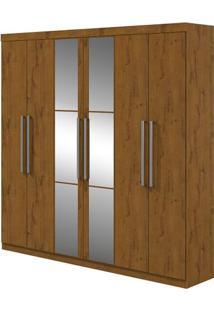 Guarda-Roupa Ideale - Com Espelho - Rovere Soft - Lopas