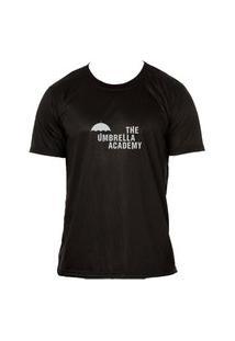Camiseta The Umbrella Academy T-Shirt Adulta Preta