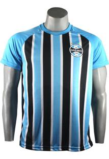 Camiseta Masculina Grêmio Stripes Poa