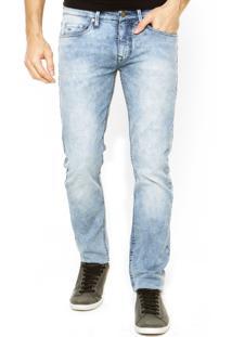 Calça Jeans Calvin Klein Jeans Reta Azul