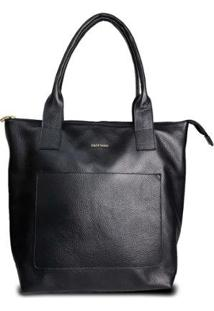 Bolsa Costtano Shopping Bag Feminina - Feminino-Preto