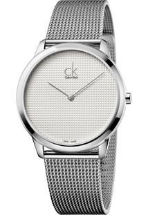 Relógio Calvin Klein K3M2112Y Prata