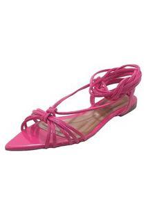 Sandália Maisapato Cordas Pink