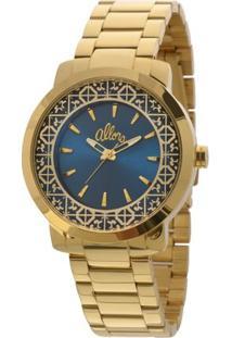 Relógio Allora - Feminino-Dourado