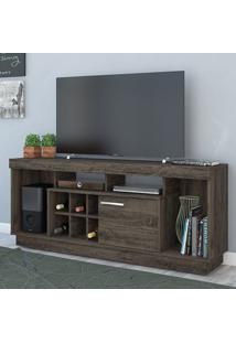 Rack Para Tv 1 Porta Lenon 390025 Vulcano - Madetec