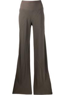 Rick Owens Bias Cut Pants - Cinza