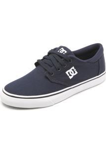 Tênis Dc Shoes Plaza Lite Azul-Marinho