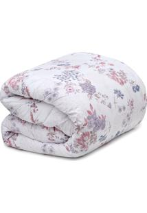 Edredom Queen Altenburg Home Collection Rosa