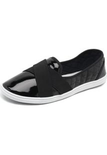 Slipper Bouts Summer Preto