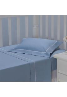 Jogo De Lençol Infantil Plumasul Premium Harmony Baby 3 Pçs Bordado Branco