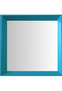 Espelho Moldura Madeira Lisa Fundo 16345 Anis Art Shop