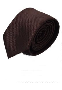 Gravata Horus Marrom Slim 4004