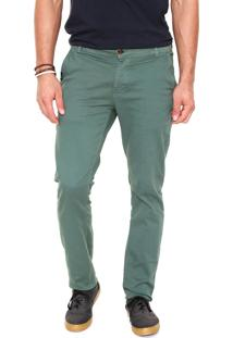 Calça Sarja Reef Chino Color Verde