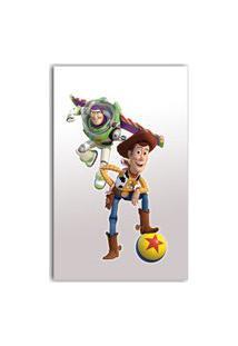 Adesivo De Parede Toy Story - 40X22 Cm - Gedex