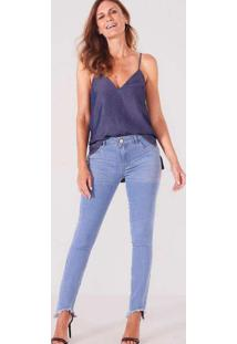 Calça Super Skinny Camili Unico Jeans Multicores