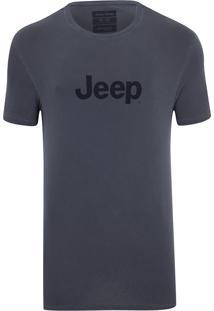 Camiseta Jeep Prize Estonada Azul