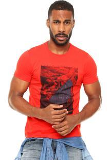 Camiseta Enfim Travel Vermelha