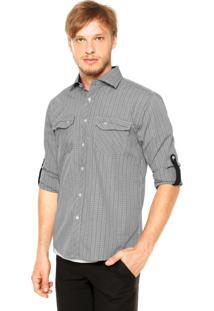 Camisa Fiveblu Slim Denmark Cinza