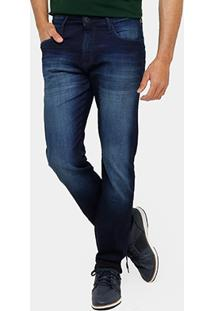 Calça Jeans Skinny Forum Paul Indigo Masculina - Masculino