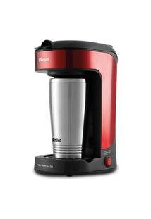 Cafeteira Philco Single Thermo Inox Red Pcf21 110V