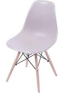 Cadeira Eames Dkr- Fendi & Bege- 80,5X46,5X42Cm-Or Design