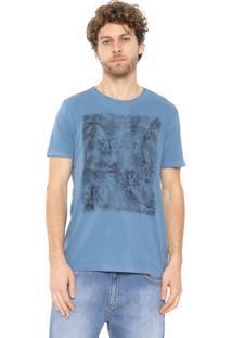 Camiseta Aramis Floral Azul