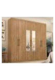 Guarda Roupa Casal 6 Portas Com Espelho Capital 64170Es Amendola Touch Demobile
