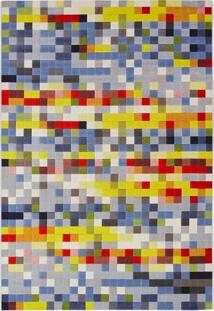 Tapete Pixel N Retangular Veludo (200X290) Colorido