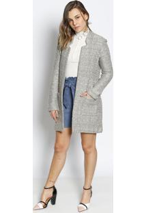 Blazer Maria Em Tweed - Begele Lis Blanc