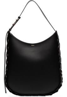 Chloé Large Darryl Shoulder Bag - Preto