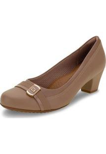 Sapato Piccadilly - 111094 Feminino - Feminino-Bege