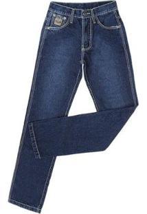 Calça Jeans King Farm Bronze King Original Masculina - Masculino-Azul Escuro