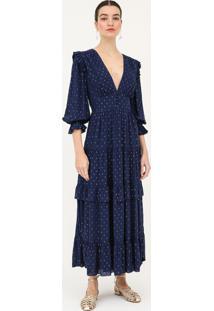 Vestido Rubia - Azul Escuro - Pp