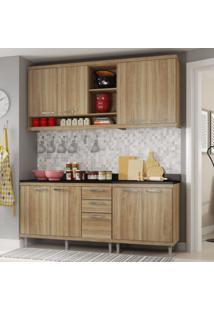 Cozinha Compacta 4 Peças Sicília S10T Multimóveis Argila