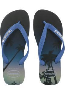 Chinelo Havaianas Hype Fc - Masculino - Azul Escuro