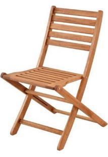 Cadeira Dobravel Orbit Sem Braco Stain Jatoba - 40751 - Sun House