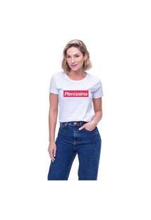 T-Shirt Pleníssima Branco
