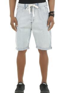 Bermuda Jeans Jeans Claro